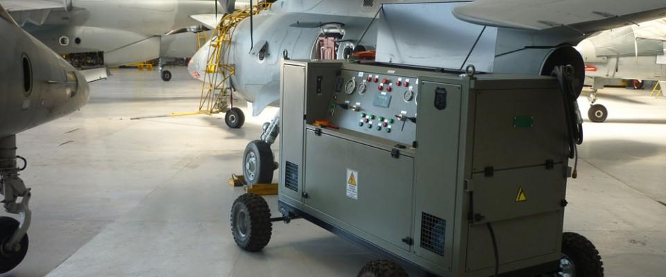 Banco Dual de prueba hidráulica | 4ta Brigada de Mendoza
